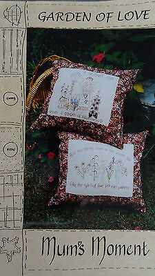 Garden of Love Embroidery Patterns by Mum's Moment NEW