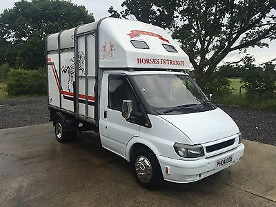 Ford Transit Ifor Williams 3.5 Ton Horse Box