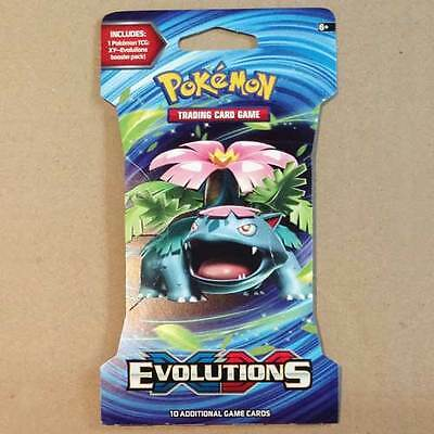 POKEMON TCG XY Evolutions Blister x 1 Packet NEW * trading card game 10 cards