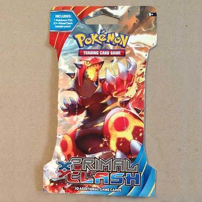 POKEMON TCG XY Primal Clash Blister x 1 Packet NEW trading card game 10 cards *