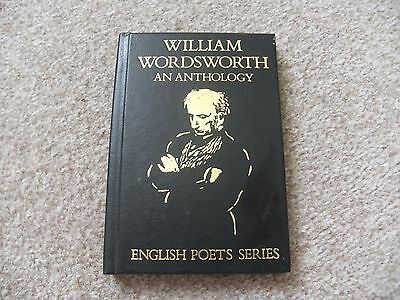William Wordsworth - An Anthology. English poets series book.
