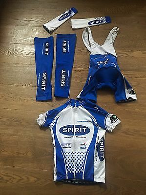 Women's Cycling Team Kit with Leg & Arm Warmers