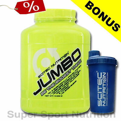 Scitec Nutrition Jumbo Mass Gainer 4400 g Weight Gainer + Shaker