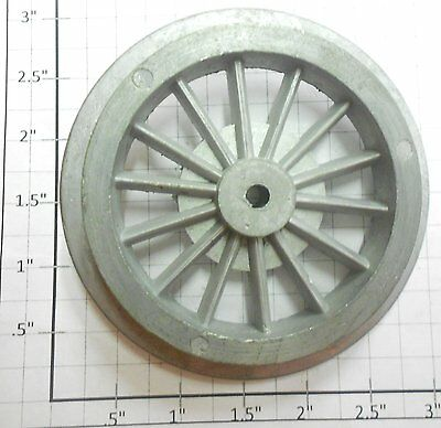 Lionel 390-44Y Super Motor Unpainted Gear Spoked Steam Loco Drive Wheels