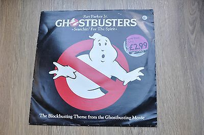 """Ghostbusters Search for the Spirit Ray Parker Jr 12"""" 45RPM 1984"""