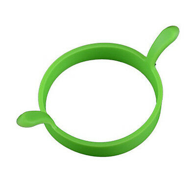 1 Pc Silicone Round Ring Fried Fry  Oven Poacher Pancake Egg Cooking Tool