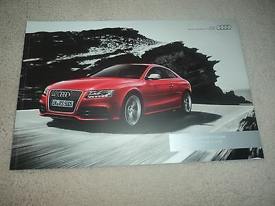 Audi RS  5 Coupe Brochure  -  2010
