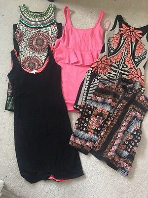 Womens Size 6 clothing bundle - River Island and Topshop - Dresses, tops, Peplum