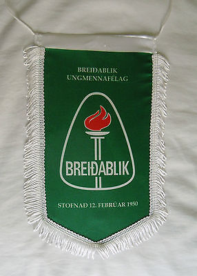 Official pennant of Breidablik,  Iceland