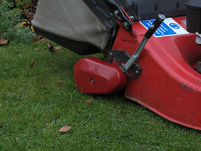 Castel garden Mower ca 484 tr petrol Honda mower w self propelled roller