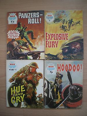 Collection Of War Picture Library Comic Books