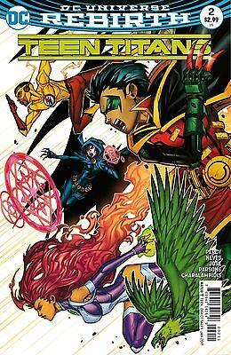 TEEN TITANS #2 - NM - DC Comics - REBIRTH