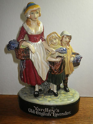 Royal Doulton Very Rare Figurine Yardleys Old English Lavander Dated 1920's
