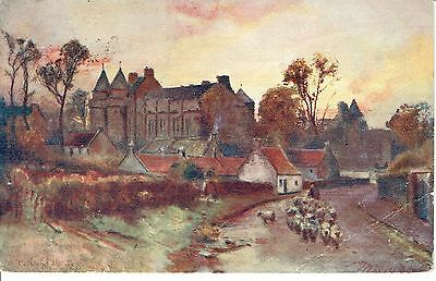 """PPC Of """"  Falkland Palace  """"  posted 1906"""