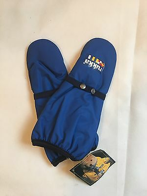 Rukka Lined Childrens Mittens Royal Blue