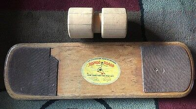 Vintage Original Bongo Board & Surf Balance Training Board