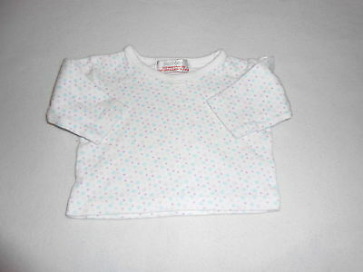 Baby Girls Clothes Newborn - Pretty Spotty T Shirt  Top - Combine Postage & Save