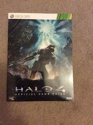 Halo 4 official game guide for xbox 360
