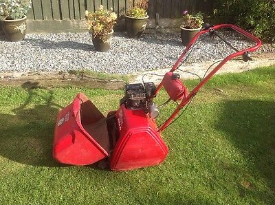 Lawn Mower Suffolk Punch 35s Self Propelled Cylinder Petrol