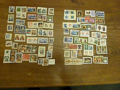 200 Plus Used Stamps From The Usa
