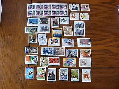 Over 100 Used Australian Stamps