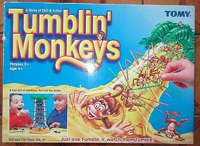 TUMBLIN' MONKEYS by TOMY 1999 - Children's  & Family Game VGC