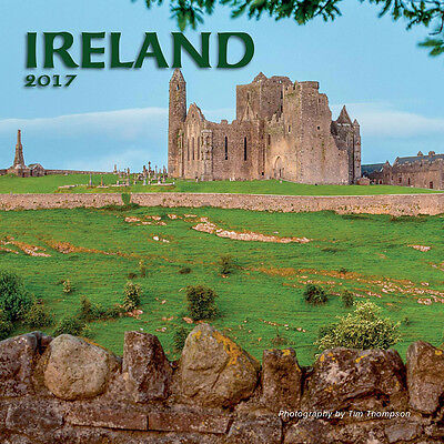 """Ireland 2017 Wall Calendar by Turner/Lang (12"""" x 24"""" when opened)"""