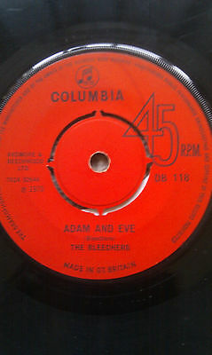 "THE BLEECHERS Adam And Eve 7"" 1970 SUPER RARE REGGAE!! Columbia VGC!"
