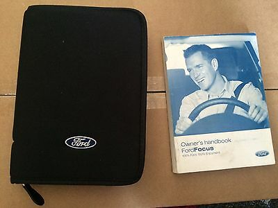 Ford Focus Mk 2 2005-2008  Owners Manual And Wallet