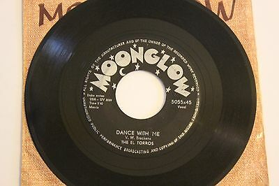 The El Torros/ Rosco Gordon – Dance With Me/Tummer Tee Moonglow 1957? US Press