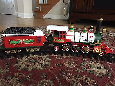 New Bright Holiday Express Musical Train Set