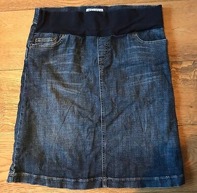 Seraphine Maternity Denim Skirt 12