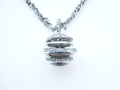 Crystal Ball Pendant Necklace - New