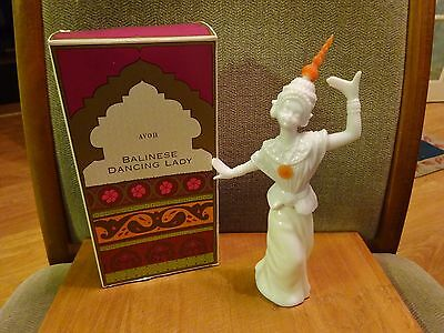 Vintage Avon  60S/70S Balinese Dancing Lady Boxed And Almost Full Tasha 50Ml