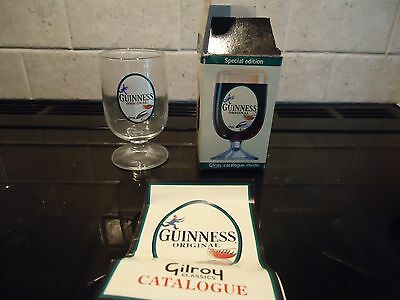 Gilroy Classic Guinness Original Glass Goblet With Box And Catalogue