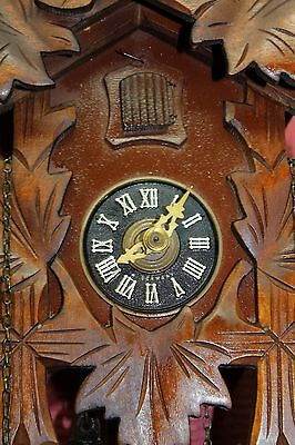 Old Wall clock Black Forest Cuckoo Clock Original Schwarzwald **REGULA** • £42.00