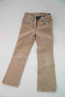 Mini Boden Girls Age 5-6 Beige Needle Cord Trousers