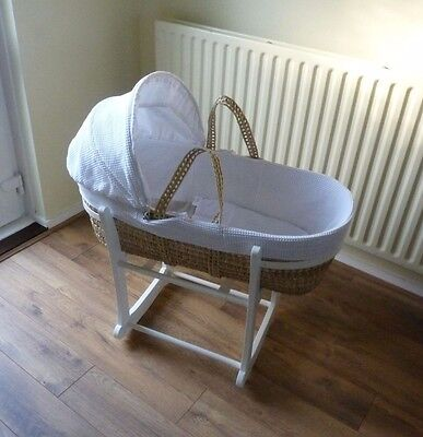 Moses Basket and Rocking Stand from John Lewis