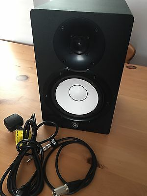 Yamaha HS7 Powered Bi-Amplified Studio Monitor Speaker **NEW With Defect**