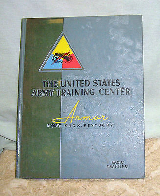 The United States Army Training Center Armor Fort Knox, Kentucky