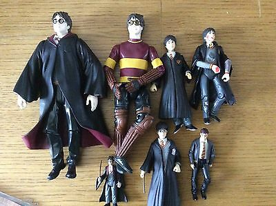 Harry Potter 8inch  & Smaller Action Figures X 7