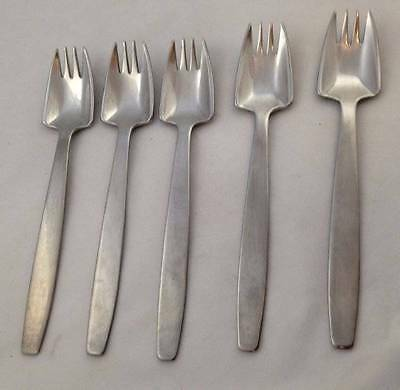 Vintage Cutlery x5 Forks Viners Splayds by McArthur Ireland