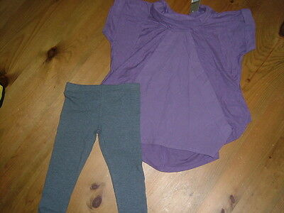 Next Girls Top And Leggings Set Age 4 Bnwt