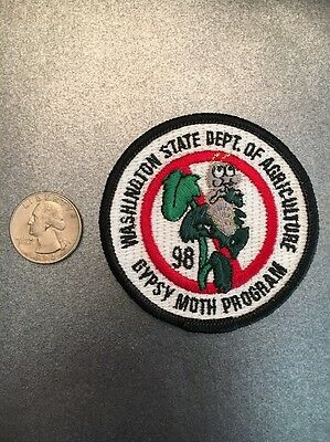 Washington State Department Of Agriculture Gypsy Moth Program Patch