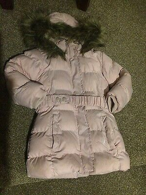 Pink winter coat age 5-6