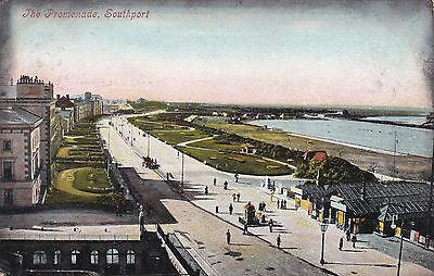 GB Southport Lancashire 1904 PC to Leeds