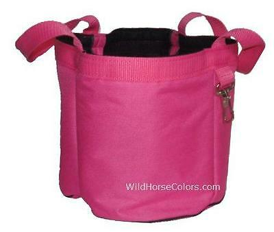 HOT PINK Grooming Caddy Tote Organizer by Tough-1 NEW Horse Pony Gift
