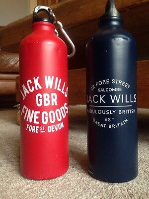 His And Hers Jack wills Water Bottles