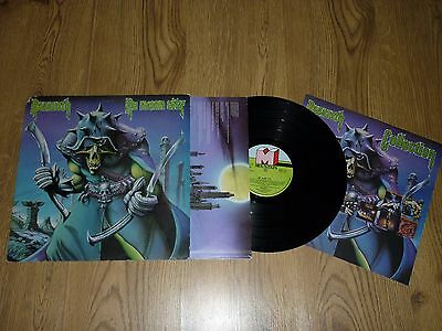 NAZARETH - No Mean City - UK LP with INNER & INSERT - TOPS 123
