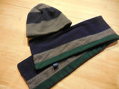 Boys winter hat and scarf